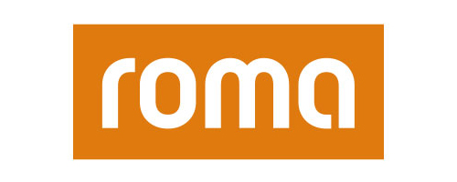 Roma windows company logotype